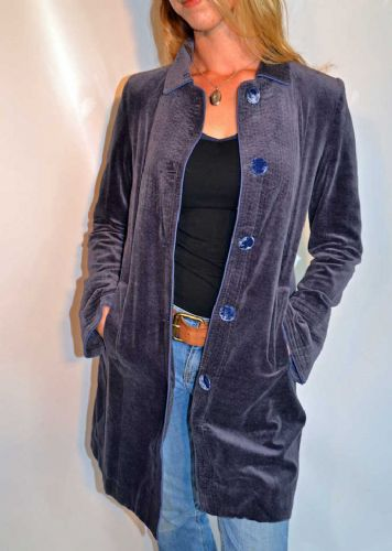 Car Coat - Mood Indigo  ONLY ONE SIZE LARGE  LEFT - WAS £175 NOW